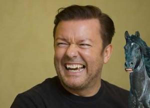 Ricky-Gervais-on-a-Horse